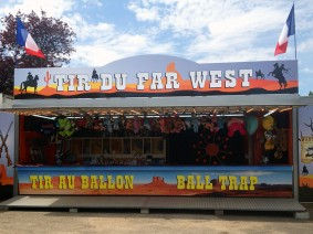 "Enseigne Dibond ""Tir du Far West"""